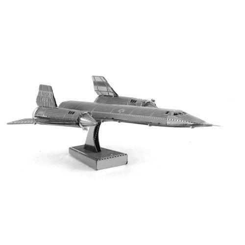 【Metallic nano puzzle 金屬拼圖】TMN-28 SR-71 黑鳥戰鬥機