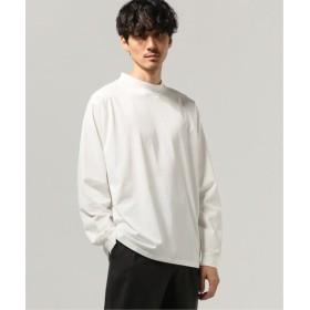 JOURNAL STANDARD アディクト モックネックロングスリーブTシャツ ホワイト S