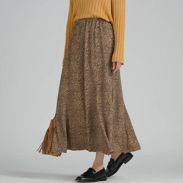 [マルイ]【セール】レオパード柄マーメイドスカート/リップスター(LIPSTAR)