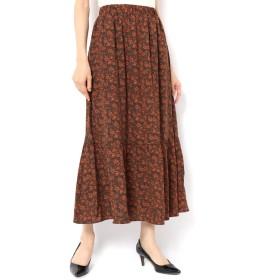 【テチチ/Te chichi】 柄アソート切り替えスカート