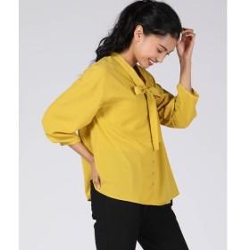 Ketty Cherie / ケティ シェリー 【WEB別注】ジョーゼットリボン付きシャツ