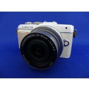 【中古】 【並品】 オリンパス PEN Lite E-PL7 14-42mm EZ レンズキット ホワイト