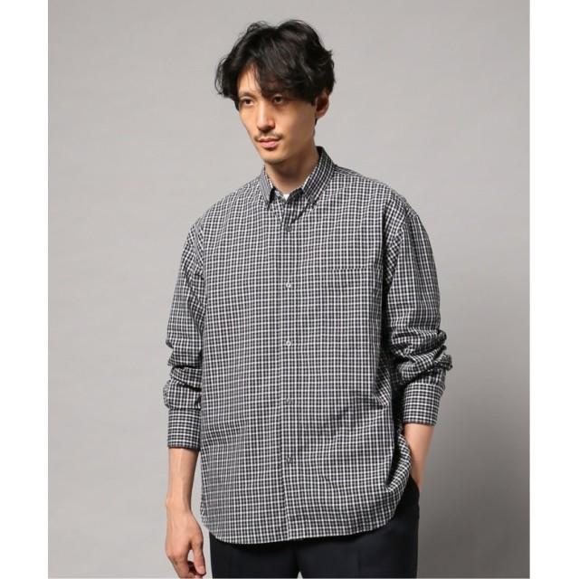 【30%OFF】 エディフィス BDショートポイントワイドシャツ メンズ ネイビー 46 【EDIFICE】 【タイムセール開催中】