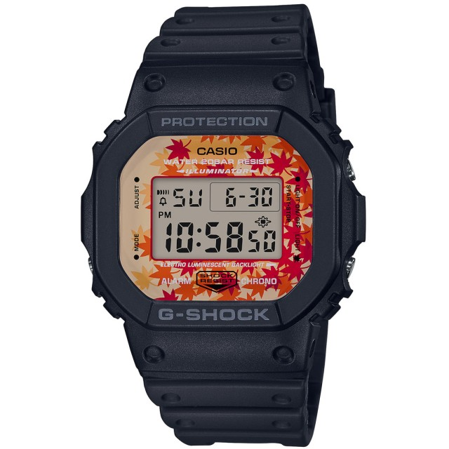 【G-SHOCK】Kyo Momiji Color / DW-5600TAL-1JR (ブラック×オレンジ)