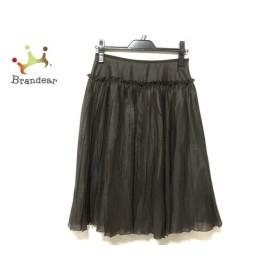 ロイスクレヨン Lois CRAYON スカート サイズM レディース 美品 ダークブラウン 新着 20190904