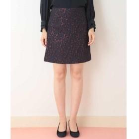 TARA JARMON / タラジャーモン ジャガードデザインショートスカート