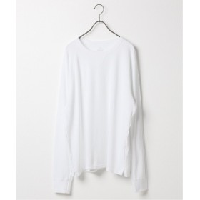 ジャーナルスタンダード SAVE KHAKI UNITED ロングスリーブ サーマル クルー Tシャツ メンズ ホワイト M 【JOURNAL STANDARD】
