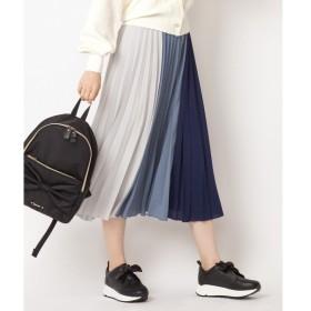 [マルイ] 【洗える!】カラーブロックプリーツスカート/フェルゥ(Feroux)