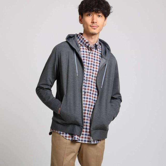 タケオ キクチ TAKEO KIKUCHI 【 WEB限定 】 大人パーカー (ダークグレー)