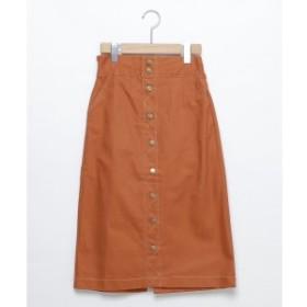 レイカズン(RAY CASSIN)/配色ステッチナロースカート