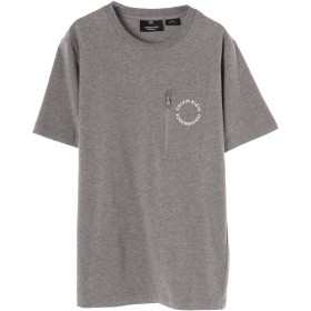 Calvin Klein men's Space Lines SS Tee Tシャツ・カットソー,Med Grey