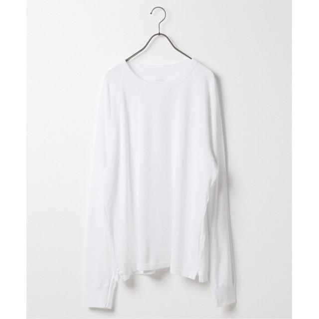 SAVE KHAKI UNITED SAVE KHAKI UNITED ロングスリーブ サーマル クルー Tシャツ ホワイト L