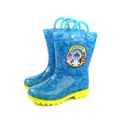POLI 救援小英雄 雨鞋 雨靴 藍色 中童 童鞋 PUKL91606 no685