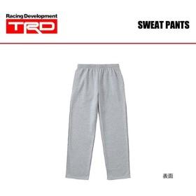 TRD スウェットパンツ グレー Lサイズ