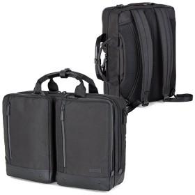 カバンのセレクション ディバイン ビジネスバッグ 3WAY ビジネス リュック メンズ ブランド 撥水 A4 DIVINE DIV04 ユニセックス ブラック 在庫 【Bag & Luggage SELECTION】