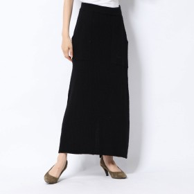 スタイルブロック STYLEBLOCK ワッフルタイトスカート (ブラック)