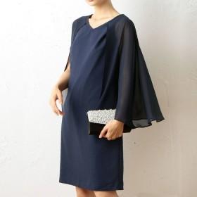 GeeRA 3WAYドレス ブルー M レディース 5,000円(税抜)以上購入で送料無料 ワンピース 夏 レディースファッション アパレル 通販 大きいサイズ コーデ 安い おしゃれ お洒落 20代 30代 40代 50代 女性 ワンピース ドレス