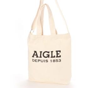 エーグル AIGLE コットンキャンバス 2ウェイ トート ニュー (オフホワイト)