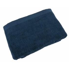 タオルケット シングル ロング サイズ 140×200cm ネイビー インディゴブルー 片面ガーゼ 片面パイル リバーシブル