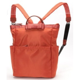 (velikoko bag/ヴェリココ(バッグ))【大】選べる2サイズ リボン付きリュック/レディース オレンジ 送料無料