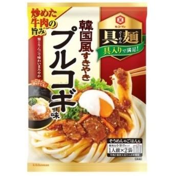【訳あり 特価】 賞味期限:2020年8月31日 キッコーマン 具麺 韓国風すきやき プルコギ味 58g×2袋