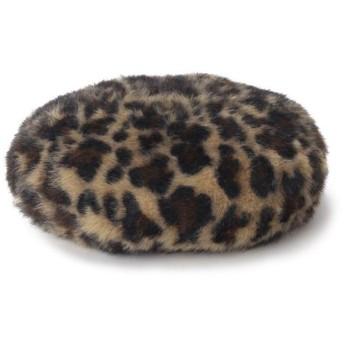 オペークドットクリップ ヘアリーベレー帽 レディース キャメル(141) 00 【OPAQUE. CLIP】