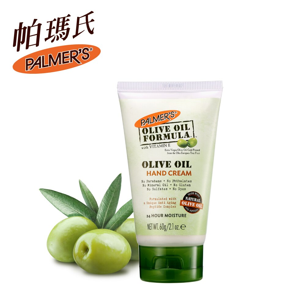 【PALMERS 帕瑪氏】 天然橄欖脂抗老修護護手霜60g