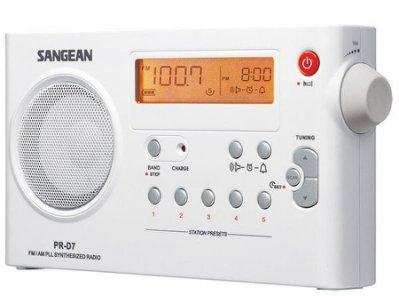 SANGEAN 山進  雙波段充電式收音機 PR-D7