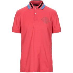 《セール開催中》ROBERTO CAVALLI メンズ ポロシャツ レッド M コットン 100%