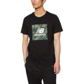 [ニューバランス] Tシャツ カモT メンズ BK(ブラック) 日本 M (日本サイズM相当)
