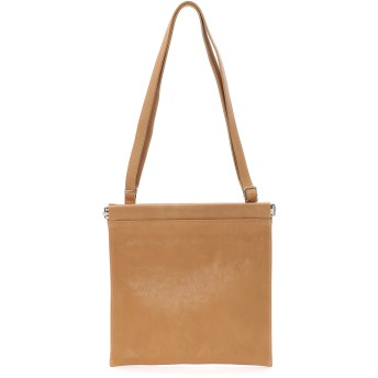 PATRICK STEPHAN PATRICK STEPHAN / パトリックステファン Leather shoulder bag 'spring closure' ショルダーバッグ,BEIGE