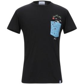 《セール開催中》BERNA メンズ T シャツ ブラック S コットン 100%