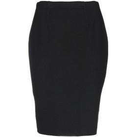 《セール開催中》NEERA レディース ひざ丈スカート ブラック 40 バージンウール 100%