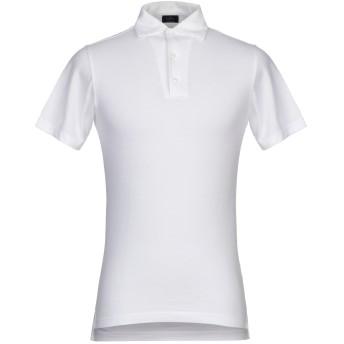 《期間限定セール開催中!》BARBA Napoli メンズ ポロシャツ ホワイト 50 コットン 100%