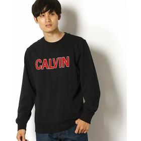 [マルイ] 【CALVIN KLEIN JEANS】ロゴ クルーネック スウェット/カルバン・クライン(CALVIN KLEIN)