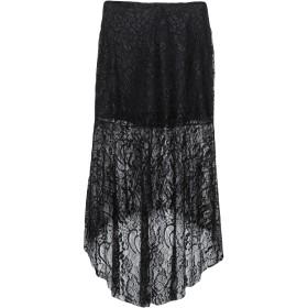 《期間限定セール開催中!》BERNA レディース 7分丈スカート ブラック XS ポリエステル 100%