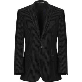 《期間限定セール開催中!》KARL LAGERFELD メンズ テーラードジャケット ブラック 50 バージンウール 90% / ナイロン 10%