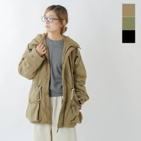 BURLAP OUTFITTER バーラップアウトフィッター ボタンフロントパーカー button-front-parka 2019aw新作
