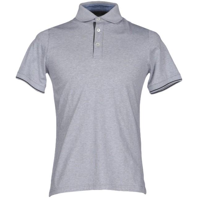 《期間限定セール開催中!》ELEVENTY メンズ ポロシャツ ライトグレー XXL コットン 100%