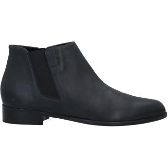 《セール開催中》GIUSEPPE ZANOTTI レディース アンクルブーツ ブラック 41 革 / 紡績繊維