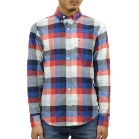 [ホリスター] HOLLISTER 正規品 メンズ 長袖ボタンダウンシャツ Stretch Plaid Poplin Shirt 325-259-1942-508 XL 並行輸入品 (コード:4121710363-5)