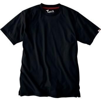ジャウィン(Jawin)半袖Tシャツ 吸汗速乾 作業Tシャツ jd-55314-b ブラック 4L