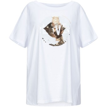 《9/20まで! 限定セール開催中》ARMANI EXCHANGE レディース T シャツ ホワイト XL コットン 100%
