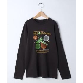 THE SHOP TK(Kids)(ザ ショップ ティーケー(キッズ)) 【160cm】スペースロングTシャツ