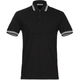 《9/20まで! 限定セール開催中》VALENTINO メンズ ポロシャツ ブラック M コットン 100%