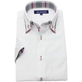 (ブルーム) BLOOM 2018夏 オリジナル 半袖 ワイシャツ クールビズ 形態安定加工 4 M