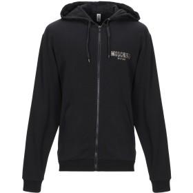 《期間限定セール開催中!》MOSCHINO メンズ スウェットシャツ ブラック XS コットン 100%