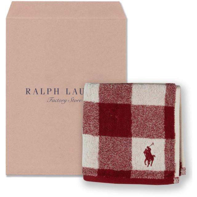 ラルフローレン 【RALPH LAUREN】 ウォッシュタオル14・ジャクソンウール レッド カラーを選択,14.ジャクソンウールRD[のし対応