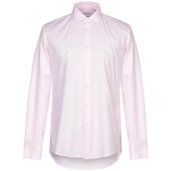 《9/20まで! 限定セール開催中》GREY DANIELE ALESSANDRINI メンズ シャツ ピンク 40 コットン 97% / ポリウレタン 3%