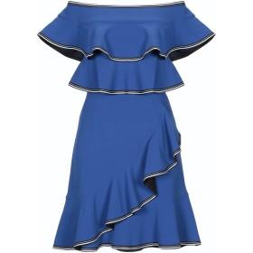 《期間限定セール開催中!》REBECCA VALLANCE レディース ミニワンピース&ドレス ブルー 8 ポリエステル 97% / ポリウレタン 3%